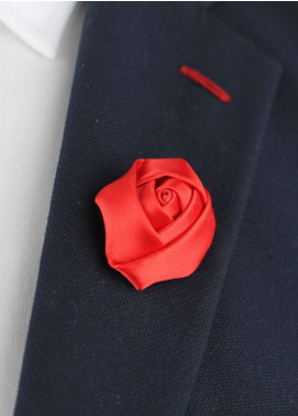 Shahzeb Saeed  Silk  Lapel Pin Flower LPF-048 - Casual Accessories