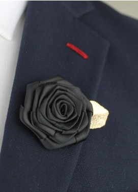 Shahzeb Saeed  Silk  Lapel Pin Flower LPF-052 - Casual Accessories