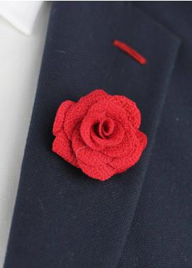 Shahzeb Saeed  Silk  Lapel Pin Flower LPF-055 - Casual Accessories