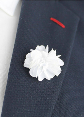 Shahzeb Saeed  Silk  Lapel Pin Flower LPF-059 - Casual Accessories