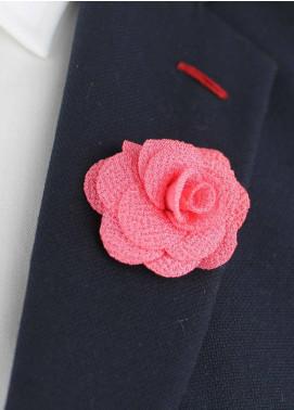 Shahzeb Saeed  Silk  Lapel Pin Flower LPF-062 - Casual Accessories