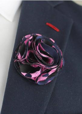 Shahzeb Saeed  Silk  Lapel Pin Flower LPF-068 - Casual Accessories