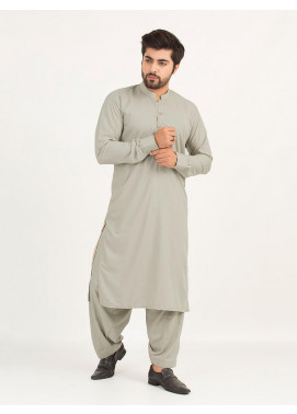 Shahzeb Saeed Wash N Wear Formal Men Kameez Shalwar - FAWN SK-235