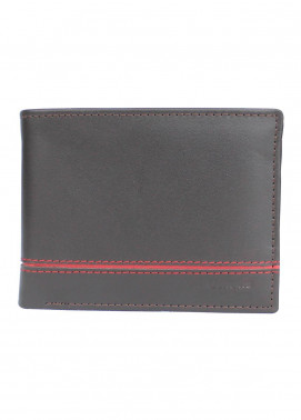 Shahzeb Saeed Plain Texture Leather  Wallet W-065 - Men's Accessories
