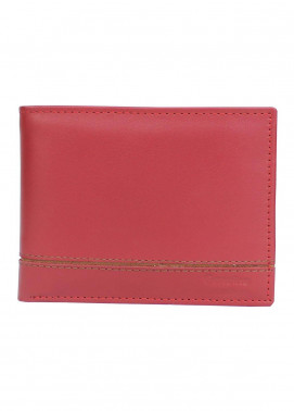 Shahzeb Saeed Plain Texture Leather  Wallet W-066 - Men's Accessories
