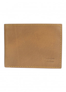 Shahzeb Saeed Plain Texture Leather  Wallet W-067 - Men's Accessories