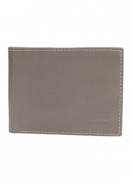 Shahzeb Saeed Plain Texture Leather  Wallet W-069 - Men's Accessories