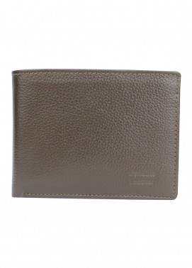 Shahzeb Saeed Plain Texture Leather  Wallet W-070 - Men's Accessories