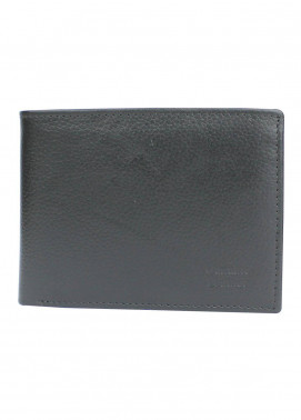 Shahzeb Saeed Plain Texture Leather  Wallet W-071 - Men's Accessories
