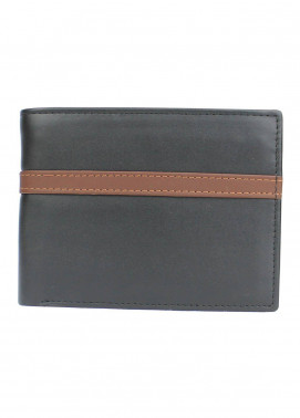 Shahzeb Saeed Plain Texture Leather  Wallet W-079 - Men's Accessories