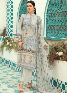 Shaista Embroidered Missouri Unstitched 3 Piece Suit SHT20LM 327 - Luxury Collection