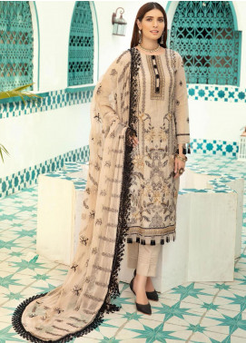 Shaista Embroidered Missouri Unstitched 3 Piece Suit SHT20LM 329 - Luxury Collection