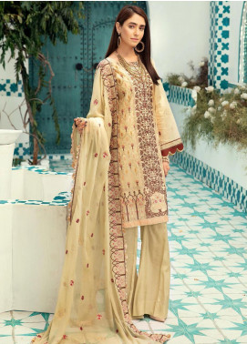 Shaista Embroidered Missouri Unstitched 3 Piece Suit SHT20LM 335 - Luxury Collection