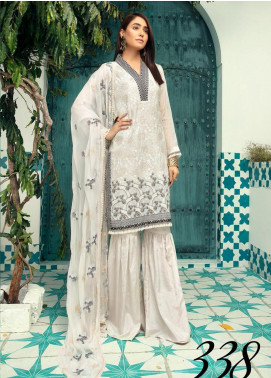Shaista Embroidered Missouri Unstitched 3 Piece Suit SHT20LM 338 - Luxury Collection
