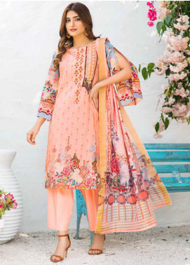 Shajar by Rashid Textiles Printed Lawn Unstitched 3 Piece Suit RD20S 1978 - Spring / Summer Collection