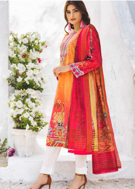 Shajar by Rashid Textiles Printed Lawn Unstitched 3 Piece Suit RD20S 1979 - Spring / Summer Collection