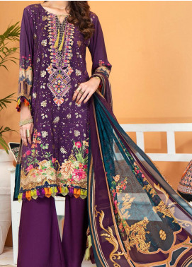 Shamira by Mohagni Embroidered Linen Unstitched 3 Piece Suit MO20SH 10 - Winter Collection