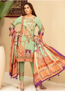 Shamira Embroidered Khaddar Unstitched 3 Piece Suit SHR19PK 1 - Winter Collection