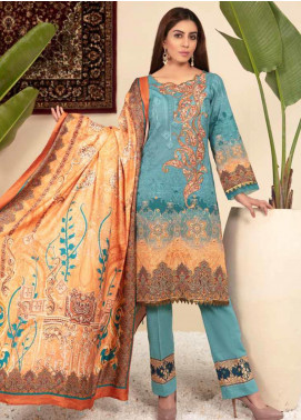 Shamira Embroidered Khaddar Unstitched 3 Piece Suit SHR19PK 2 - Winter Collection
