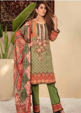 Shamira Embroidered Khaddar Unstitched 3 Piece Suit SHR19PK 4 - Winter Collection