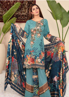 Shamira Embroidered Khaddar Unstitched 3 Piece Suit SHR19PK 5 - Winter Collection