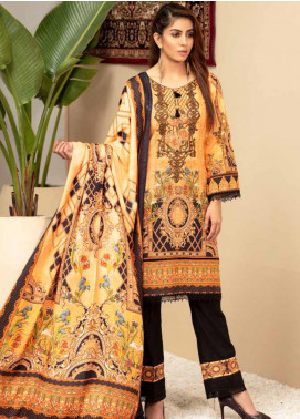 Shamira Embroidered Khaddar Unstitched 3 Piece Suit SHR19PK 7 - Winter Collection