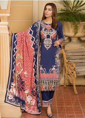 Shamira Embroidered Linen Unstitched 3 Piece Suit SHR19L 07 - Winter Collection
