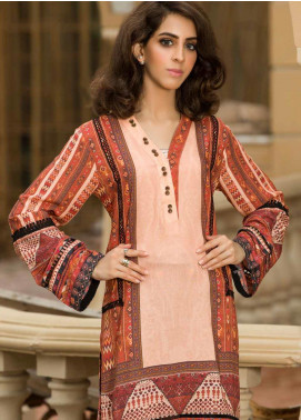 Shamira Printed Linen Unstitched Kurties SHR19LN 01 - Winter Collection