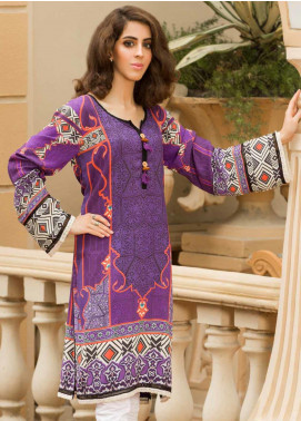 Shamira Printed Linen Unstitched Kurties SHR19LN 03 - Winter Collection