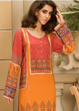 Shamira Printed Linen Unstitched Kurties SHR19LN 04 - Winter Collection