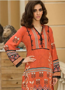 Shamira Printed Linen Unstitched Kurties SHR19LN 08 - Winter Collection