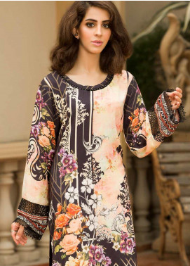Shamira Printed Linen Unstitched Kurties SHR19LN 09 - Winter Collection
