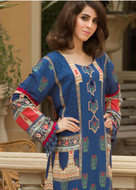 Shamira Printed Linen Unstitched Kurties SHR19LN 11 - Winter Collection