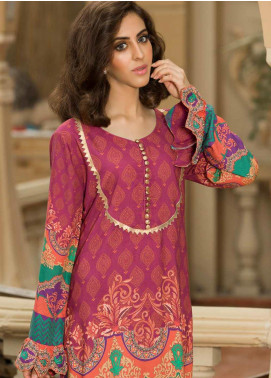 Shamira Printed Linen Unstitched Kurties SHR19LN 12 - Winter Collection