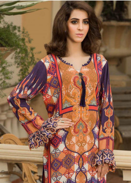 Shamira Printed Linen Unstitched Kurties SHR19LN 13 - Winter Collection