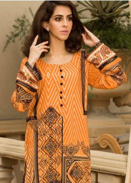 Shamira Printed Linen Unstitched Kurties SHR19LN 14 - Winter Collection