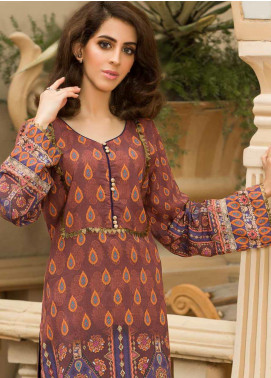 Shamira Printed Linen Unstitched Kurties SHR19LN 15 - Winter Collection
