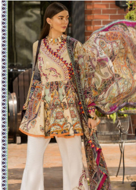 Shanaya by Saadia Asad Embroidered Lawn Unstitched 3 Piece Suit SSA19L 02 - Spring / Summer Collection