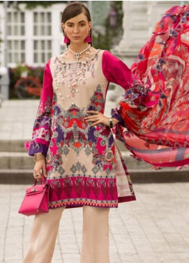 Shanaya by Saadia Asad Embroidered Lawn Unstitched 3 Piece Suit SSA19L 05 - Spring / Summer Collection