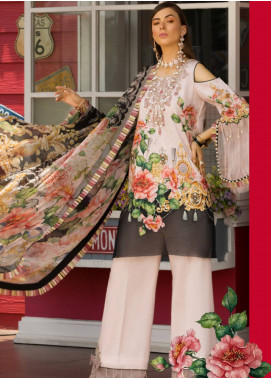 Shanaya by Saadia Asad Embroidered Lawn Unstitched 3 Piece Suit SSA19L 06 - Spring / Summer Collection