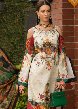 Shanaya by Saadia Asad Embroidered Lawn Unstitched 3 Piece Suit SSA19L 14 - Spring / Summer Collection