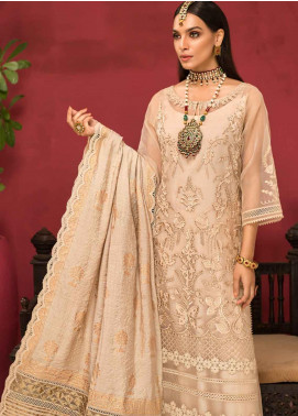Shanaya by Saadia Asad Embroidered Organza Unstitched 3 Piece Suit SSA19F 05 - Festive Collection