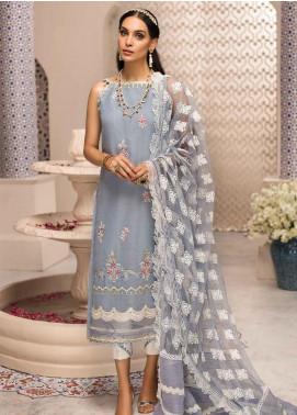 Shanaya by Saadia Asad Embroidered Karandi Unstitched 3 Piece Suit SSA19F 06 - Festive Collection