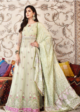 Shanaya by Saadia Asad Embroidered Net Unstitched 3 Piece Suit SA20SH D2-B - Festive Collection