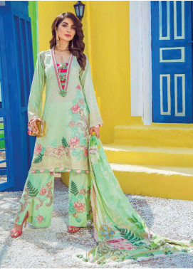 Shazia Kiyani by Elaf Embroidered Lawn Unstitched 3 Piece Suit SZK19F DE SUZANNE - Festive Collection