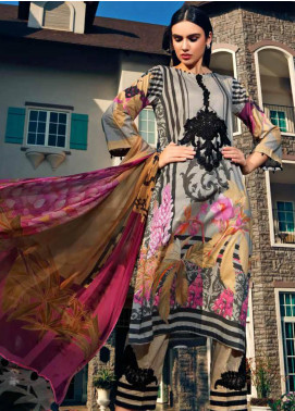 Sheen by Charizma Embroidered Lawn Unstitched 3 Piece Suit SHN20L 005 - Summer Collection