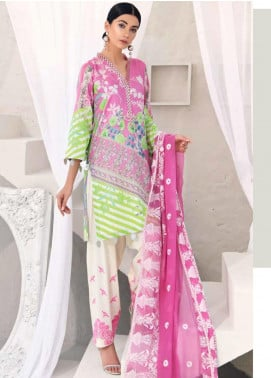 Sheen by Charizma Embroidered Lawn Unstitched 3 Piece Suit SHN20L 010 - Summer Collection