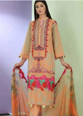 Sheen by Charizma Embroidered Lawn Unstitched 3 Piece Suit SHN19-L3 28 - Mid Summer Collection