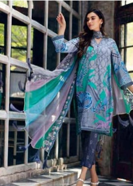 Sheen by Charizma Embroidered Lawn Unstitched 3 Piece Suit SHN19-L3 32 - Mid Summer Collection