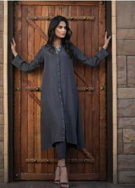 Sheep Casual Cotton Silk Stitched 2 Piece Suit SB200627 GREY